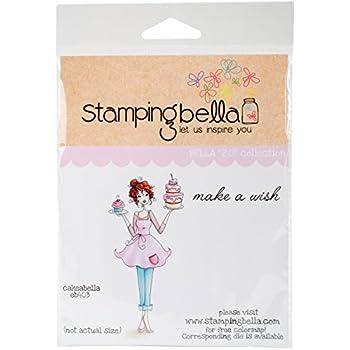 Stamping Bella EB415/Cling Timbro Multicolore 6.5/x 11,4/cm
