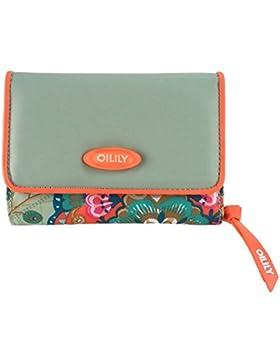 Fantasy Flora - S Wallet - Solid Pistachio