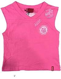 Camiseta Rosa sin Mangas bebé Niña, Talla 3 Años, Levis.
