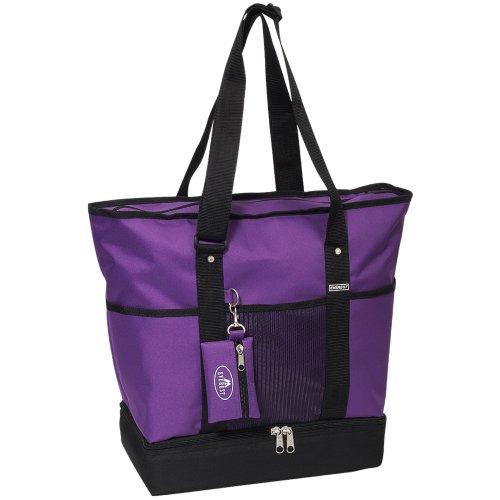 Everest, Borsa tote donna Dark Purple/Black