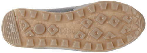 Gabor Comfort, Scarpe da Ginnastica Basse Donna Grigio (light grey/silber 40)