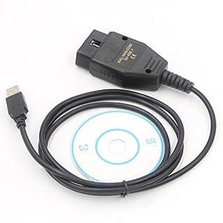ETbotu Auto Scan Tool OBD2 USB Kabel VAG-COM KKL 409.1 Auto Scanner Scan Tool für Audi VW Seat
