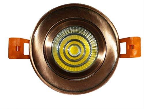 Naturstein-Randstein Retro Deckenlampe