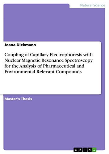 Coupling of Capillary Electrophoresis with Nuclear Magnetic Resonance Spectroscopy for the Analysis of Pharmaceutical and Environmental Relevant Compounds (English Edition)