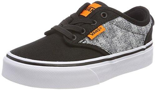 twood Slip-On Sneaker, Schwarz (Checkered Textile), 27 EU (Kinder Vans Schuhe)