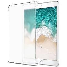 MoKo Funda para iPad Pro 10.5 - Ultra Delgado Trasera de Plástico Transparente Durable Smart Cover Parachoque (Compatible con iPad Pro Teclado Oficial) para Apple iPad Pro 10.5 Pulgadas 2017 Tableta, Blanco