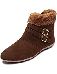 Style Height Women's Brown Casual Shoes