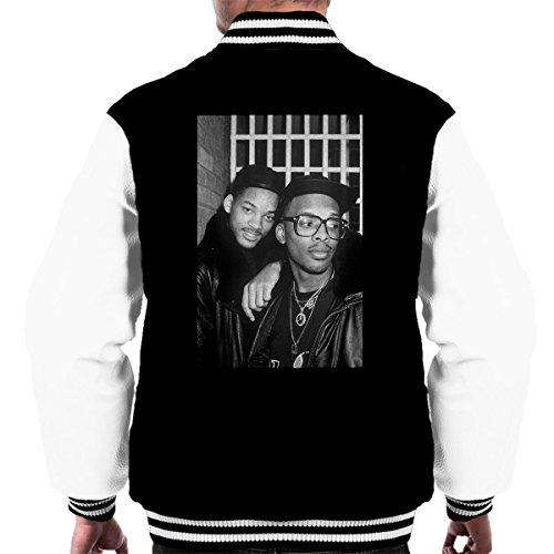 David Corio Official Photography - DJ Jazzy Jeff and The Fresh Prince London 1986 Men's Varsity Jacket