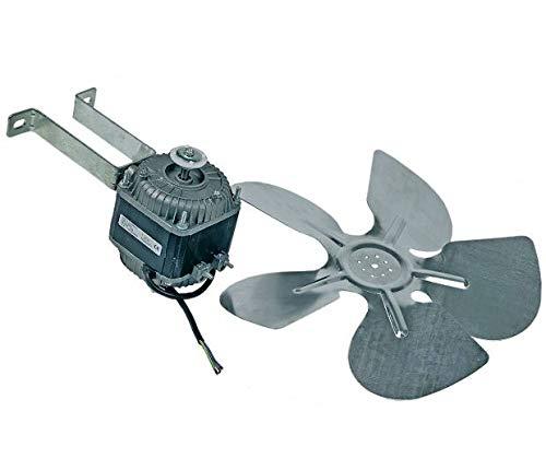 Ventilator mit Haltebügel und Flügel für Kühlgeräte 300 mm 34 Watt 230 Volt
