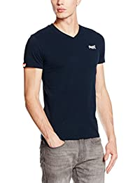 Superdry Men's Orange Label Vintage V-neck T-Shirt