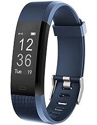 Fitness Armband Muzili YG3 Plus Fitness Tracker Sport Uhr Aktivitätstracker Schrittzähler mit Herzfrequenz Monitor / GPS/ Kalorien Zähler / Schlafmonitor / Musik-Steuerung für Andriod und IOS