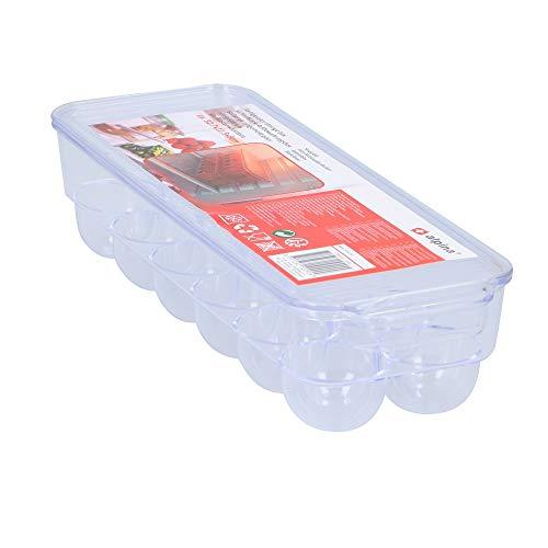 Megaprom 12-Fach Eierdose Eierbox Aufbewahrungsbox Transportbox Eierhälter Eieraufbewahrung Eier Dose Box