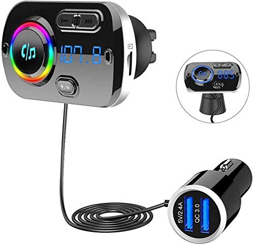 SONRU Upgrade Transmisor FM Bluetooth 5.0 Coche