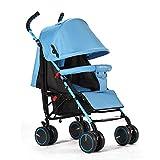 YKQ Kinderwagen für Kleinkinder Leichte stoßdämpfende Faltbare Baby Sitting und Lying Travel System 0-3 Jahre Alt