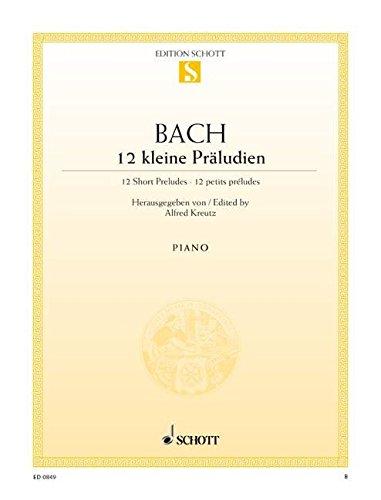Kleine Preludien(12) Piano