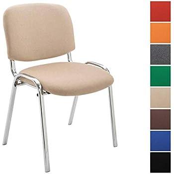 Clp Conférence Revêtement Empilable En Métal Piétement Chromé Tissu Confortable Qualité Et Ken Chaise Visiteur Avec De CedxrBo
