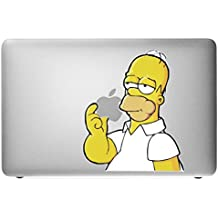 """'Incutex MacBook 13 """"15"""" Air – Pro – Retina, """"Snoopy y Woodstock, pegatinas vinilo adhesivo, Cover,, material Colores Color, Calcomanía, Skin, MacBook Decal FARB Homer"""