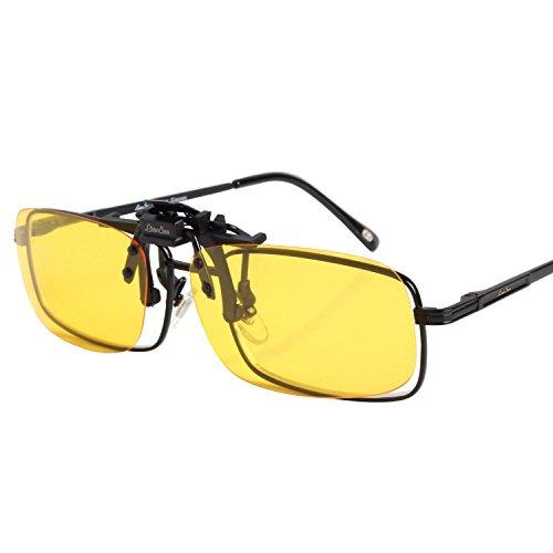 LianSan polarisiert Linse Klammer auf Sonnenbrille Flip oben Voll Rahmen Reise Klammer LTS-005 klein...