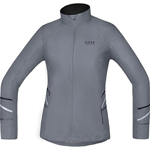 GORE WEAR Damen Jacke Mythos Windstopper Active Shell Light Jacket Dunkelgrau 36