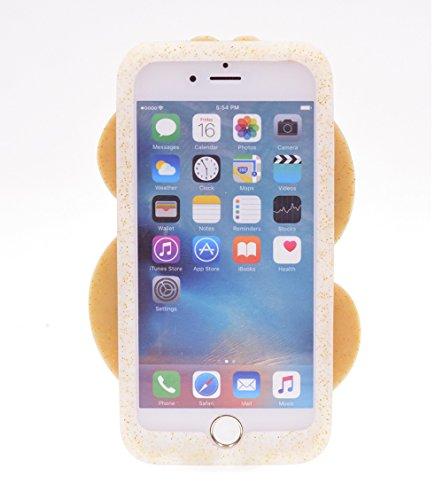 "iPhone 7 4.7"" Hülle, BENKER Hochwertig Schlagfeste und Kratzfeste Weich Silikon Kreativ 3D Cartoon Telefon Fall - Regenbogen Dollar"