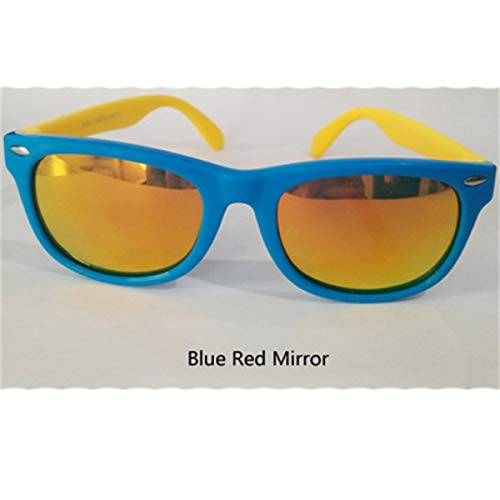 Sonnenbrillen Flexible Kids Sunglasses Polarized Child Baby Safety Sun Glasses UV400 Eyewear Infant Oculos De Sol NEW Shades Blue Red Mirror