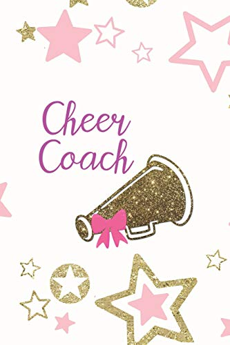 ined Notebook Journal Diary Composition Notepad 120 Pages 6x9 Paperback ( Cheerleader ) Stars ()