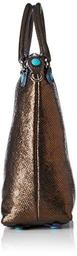 GABS GSAC M JWJW, Borsa a Tracolla Donna Multicolore (Bronze)