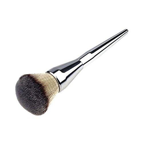VORCOOL Pinceaux de Maquillage Pinceaux pour Poudre Correcteur Blush (Argent)