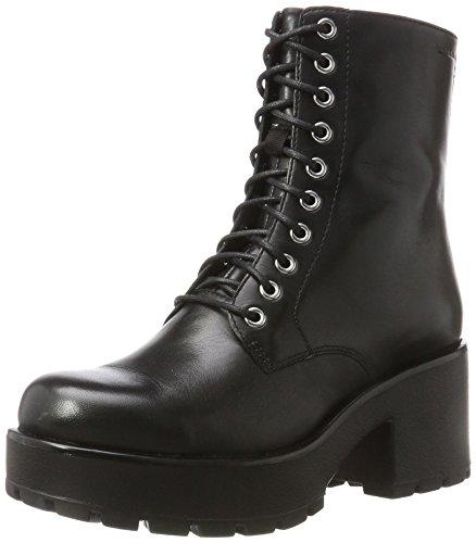 Vagabond Damen Dioon Klassische Stiefel, Schwarz (Black 20), 39 EU (Block Ferse Womens)