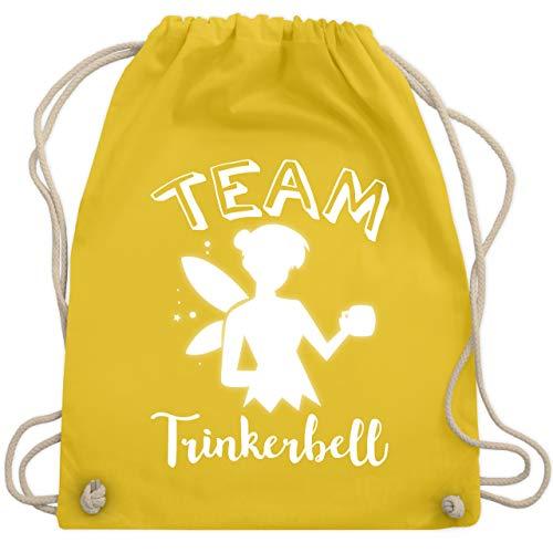 Typisch Frauen - Team Trinkerbell Mädelsabend - Unisize - Gelb - WM110 - Turnbeutel & Gym Bag