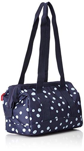 reisenthel - Borsa sportiva e da viaggio, allrounder S, M, L, colore e dimensioni a scelta Blu (Spots Navy)