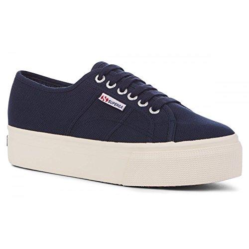 Superga 2790 Linea Updown Flatform Damen Sneaker,Pink (dusty rose),36 EU