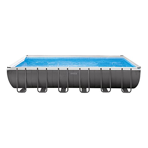 Intex Ultra Frame Piscina Desmontable, 31805 litros, Gris, 366x732x132 cm