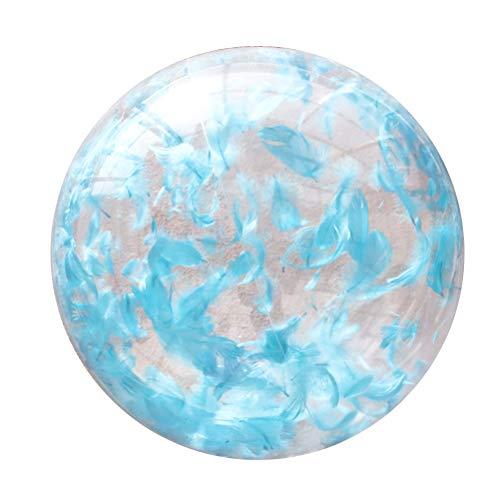 BESPORTBLE Aufblasbare Wasserball-freie Spielzeug-Bälle im Freien Innen für Wassersport-Pool-Partei-Meer - 60CM / 24Inch