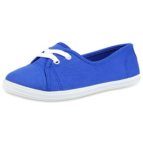 best-boots Ballerine Sneakers Sneaker scarpe da ginnastica Blau Nuovo