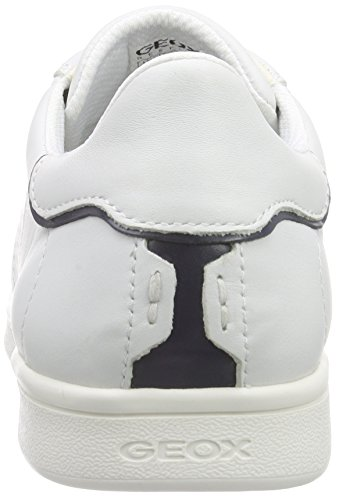 Geox U Warrens B, Baskets Basses Homme Weiß (WHITE/BLUEC0006)
