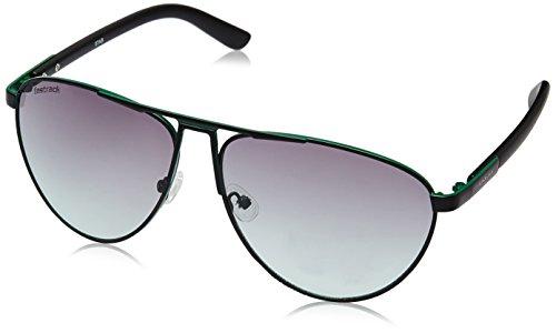 Fastrack Aviator Sunglasses (Green)- (M122GR3) image