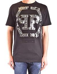 Philipp Plein Hombre MTK3108PJY002N02 Negro Algodon T-Shirt