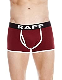 RAFF - Sport open boxer white/maroon. Pack 2 units