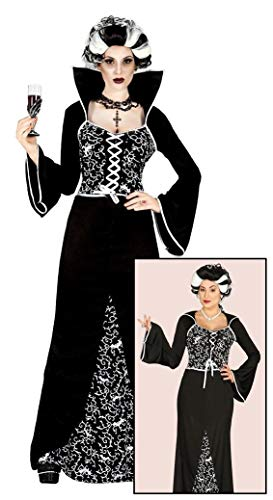 B-Creative Womens Vampire Kostüm Damen Vampiress Halloween Fancy Kleid Outfit UK 10-12 MEDIUM
