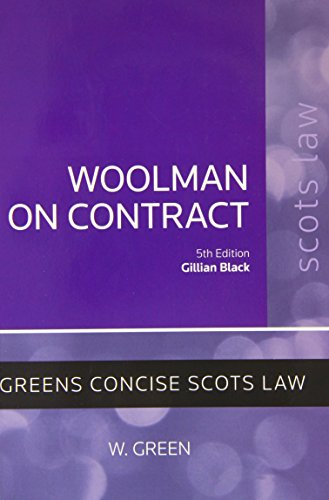 Woolman on Contract (Concise)