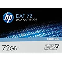 HP C8010A - Cartucho de datos 72 GB (DDS-5, 4 mm)