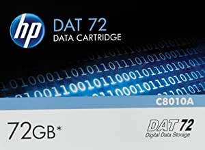 Cassette HP DAT 72, ref. C8010A : Support de stockage 36 Go / 72 Go