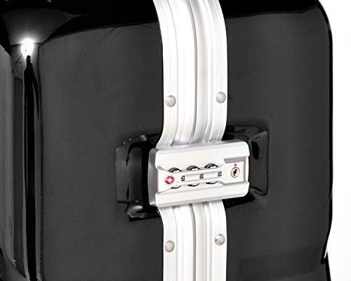 Packenger Skystar Hartschale XL Koffer, Schwarz - 5