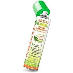 ARDAP Green Ungezieferspray – Natürlicher Insektenvernichter mit Kieselgur gegen kriechende Insekten zur Anwendung in häuslicher Umgebung – 1 x 400 ml