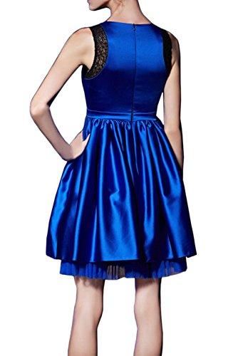 Promgirl House - Robe - Trapèze - Femme Bleu Marine