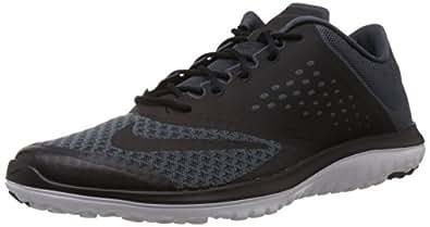 Nike Men's FS Lite Run 2 Dark Magnet Grey,Black,White  Running Shoes -10 UK/India (45 EU)(11 US)