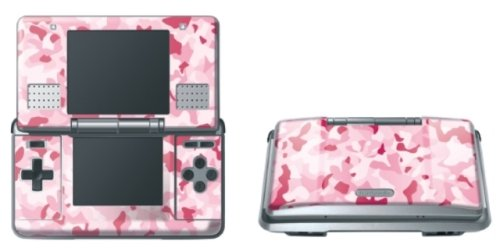 Nintendo DS - Modding Skin [Pink Nato]