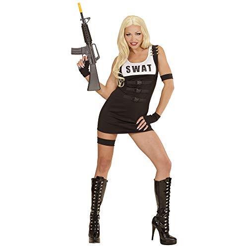 Swat Frauen Kostüm - Widmann - Erwachsenenkostüm S.W.A.T Girl