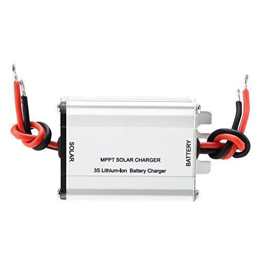 Especificación:   Condición: 100% nuevo   Modelo: BQ24650   Voltaje de entrada: Nominal 18V, 21V (sin carga)   Opción de energía del panel solar: 40-60W   Voltaje de salida: 12V nominal   Corriente de carga: Max.5A   Modo de cableado: Soldadura   Es...
